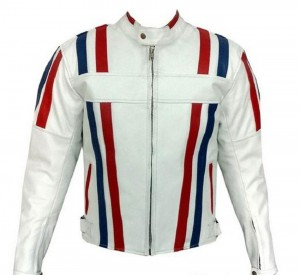 Armor-Striped-White-Color-Bikers-Racing-Leather-jacket