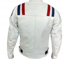 Armor-Striped-White-Color-Bikers-Racing-Leather-jacket-back