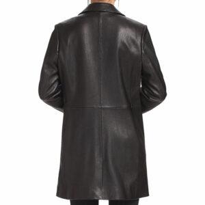 A 3 -button Black Matrix Long Coat