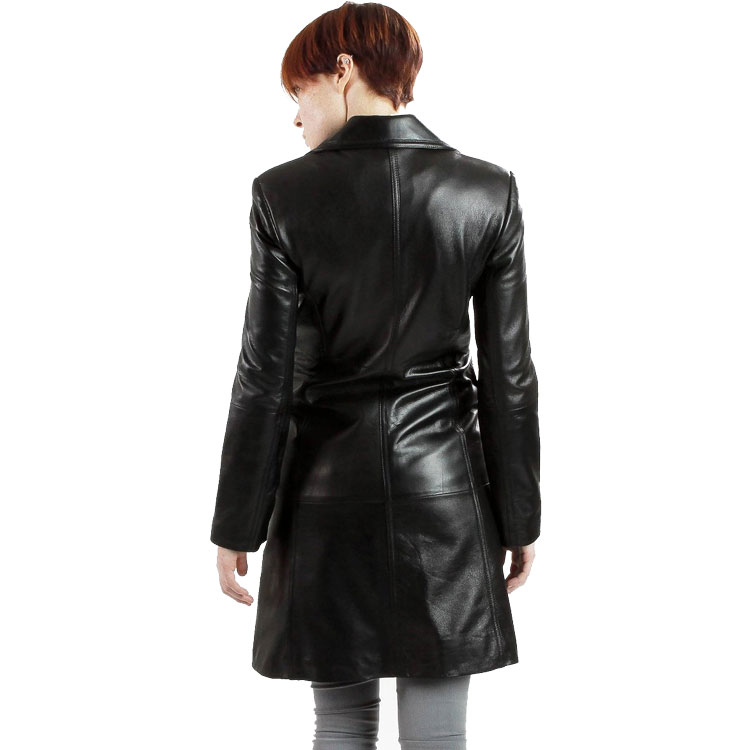 Black trench coat sale
