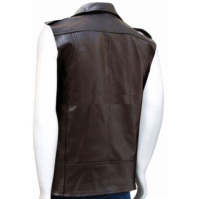 A Stylish Leather Vest For Men Leather Jackets Usa