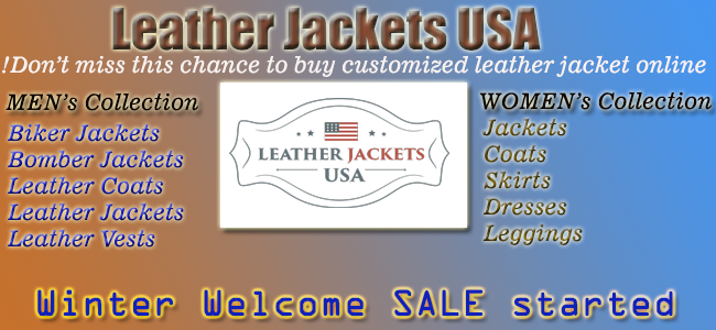 BUY LEATHER JACKETS ONLINE FROM LEATHER USA