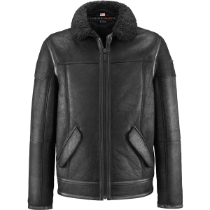 Premium Quality Flight Black Leather Jacket