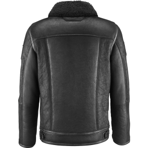 Premium-Quality-Flight-Black-Leather-Jacket