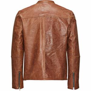 Soft Goat Leather Jacket for Mens