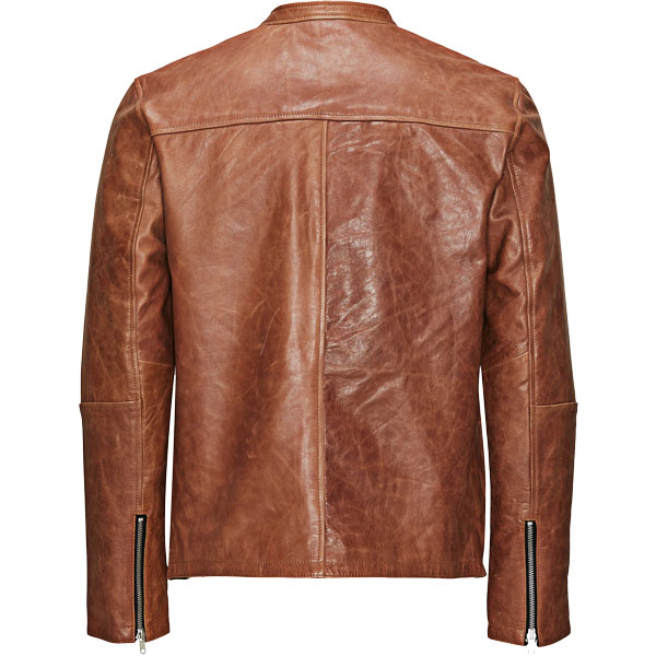 Soft Goat Leather Jacket for Mens - Leather Jackets USA