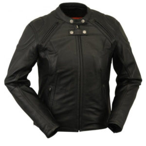 Beautiful Women's Black Rider Jacket