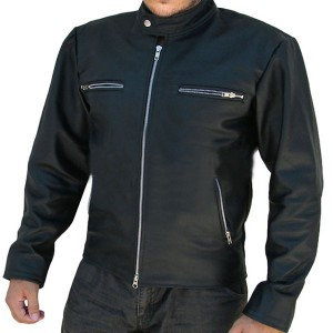 Jumper Movie Style Black Leather Jacket