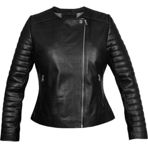 Soft and Stylish Biker Black Leather Jacket